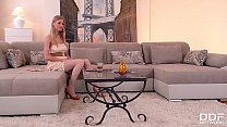 Blonde stunner Lolly Gartner can't wait to suck and ride his massive hard dick's Thumb