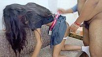 Petite indian school girl doggy style creampie