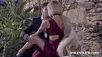Slim Latina Veronica Leal slobbers on her man's...
