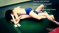 mixed erotic wrestling Thumbnail