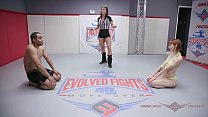 Nude Wrestling and_sex with Alexa Nova fucked in winner rucks loser match at EvolvedFights Thumbnail
