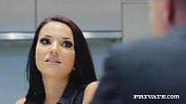 Anal Loving, Gina Gerson, face fucks a stiff di...
