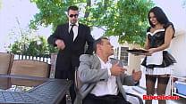 Babesalicious -  Brunette Babe Ride Big Dick Ou...