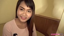 Petite Asian hooker is ready for her creampie
