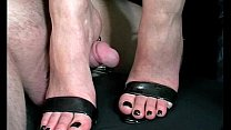 Sexy shoes footjob Thumbnail