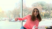 Watch Hot Jimena Lago Tries her First Erotic Photoshoot in Public preview