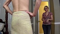 MILF creampied and fucked by step son - Fifi Fo...
