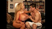 Blonde MILF with great boobs takes hard dick in...