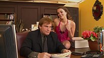 Allie Haze Banged At Work's Thumb