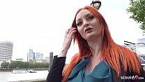 GERMAN SCOUT - Hairy Pussy Redhead Zara DuRose ...