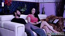 Noelle Easton is punished by a huge cock, bubble butt and petite's Thumb