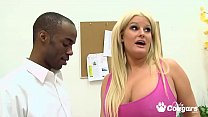 Chunky MILF Julie Cash Gets Nailed By Her First BBC's Thumb
