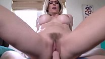 Watch Blonde stepmother taking care of step son preview