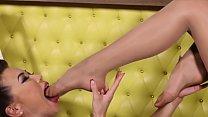 Two lesbians loves nylon feet Thumbnail