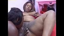 Big black sistas have unparalleled lesbian skil...