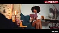XXX SHADES - Luna Corazon - Hot Interracial Sex...