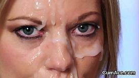 Cum on her face vanessa, arianna jolie piss