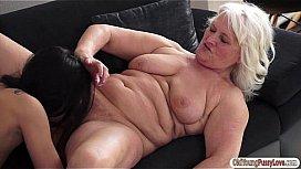 grans-orgasm-video