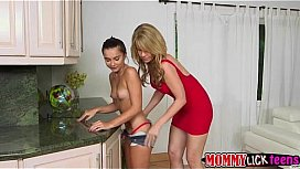 Two delicious blondes fingering and dildoing brunettes, aysha takia xxx images
