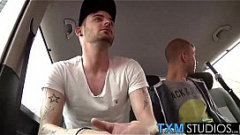 Hot ethan oliver and rhys casey doggystyle sex action