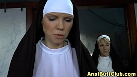 Girla and nun porn