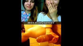 Voyeur Girls Watch Cock Cumming
