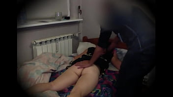 s. stepdaughter receives a lick by daddy when she s. after party