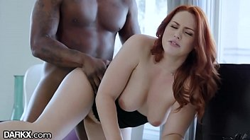 Big Tits Redhead Babe Takes Her Bosses Big Dick at Work