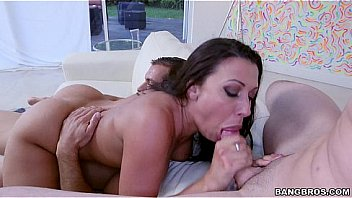 Rachel Starr loving these 2 Dicks