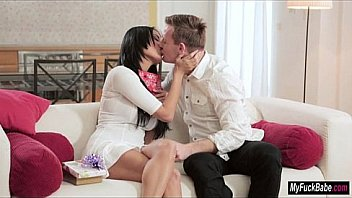 Anissa Kate gets kinky toys and anal sex for Valentines