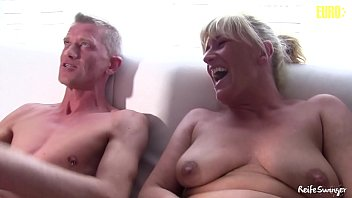 AMATEUR EURO - Annette Liselotte. And Georgina G. Are Sharing Cock In Hot 3way Fun