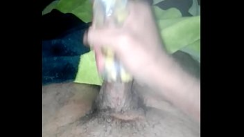 banana peel masturbating
