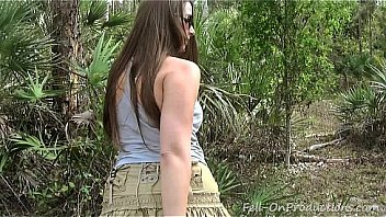 amateur thick milf in the forest porn