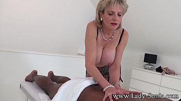 lady sonia cumming on the young stables boys face - Mature_british_lady_with_big_tits_sucks_a_black_cock Thumbnail