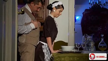 Maid sexually indulges his master