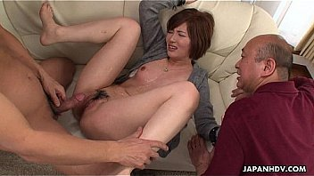 Cheating Asian wife banged in a wet session