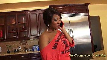 Ebony Babe Imani Rose Rides On A Big Dick