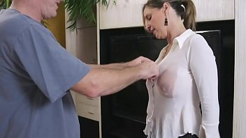 Oil accident - Watch more on BoobsTeenCam.com