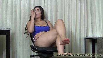 Cum Eating Encouragement JOI Masturbation