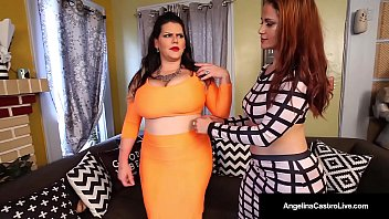 Lesbian Latina Duo, AngelinaCastro & MissRaquel have some Wet StrapOn Sex! Miss Raquel takes Angelina with her Girl Dick & pounds her Wet Pussy! Full Video & Live @ AngelinaCastroLive.com!