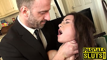 Pretty slut assfucked while restrained Thumbnail