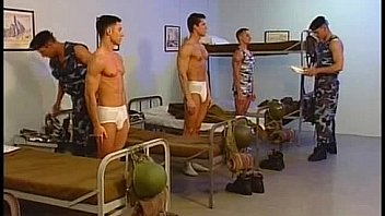 horny hunks fuck-army men