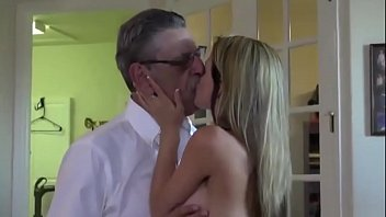 Old cock enjoying young tight pussy