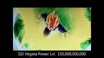 power levels dragonball z all sagas