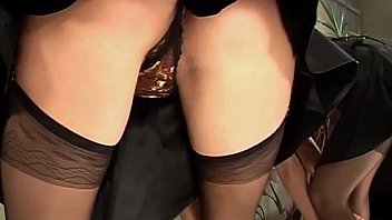 Sheer Negligee & Stockings