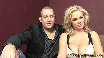 Katie Fucks BBC In Front Of Cuckold Hubby