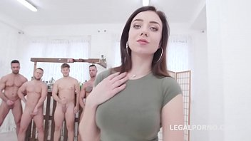 Balls Deep with Kira Axe 4on1 Anal and DP, Gapes, Creampie with Cum Cocktail GIO1253