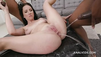 Black Pee, Bella Angel 2on1 Balls Deep Anal, DP, Gapes, Pee d. and Creampie Swallow GIO1535