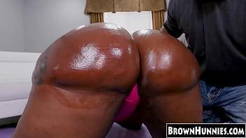 Big booty ebony princess_rides a BBC Thumbnail