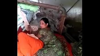 Perfect catch for aunty with old man